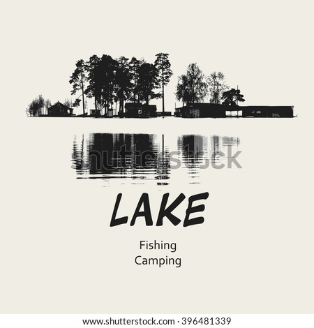 lake fishing camping design