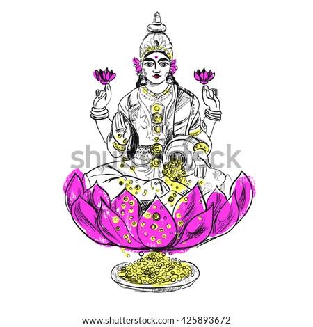 lakshmi in color magical