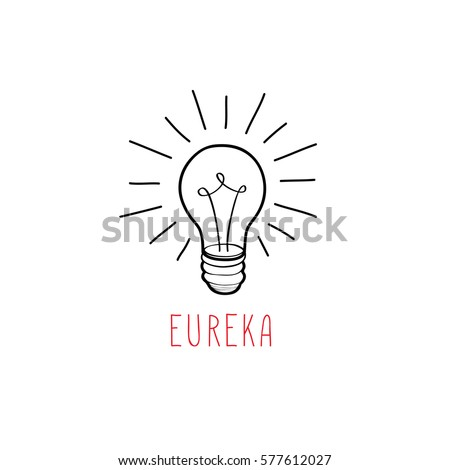 lamp bulb isolated over white