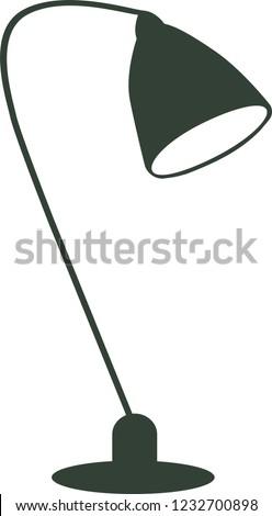 Lamp design vector illustration