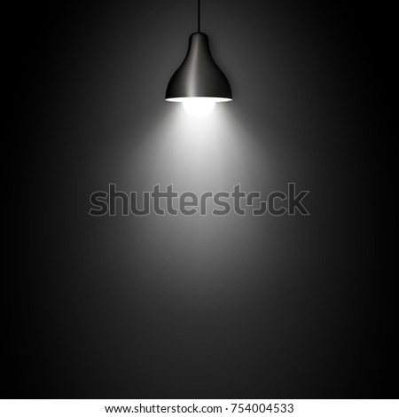 lamp vector design