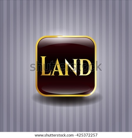 Land gold badge