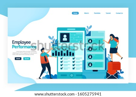 Landing page of employee performance. attracting, shortlisting, selecting and appointing candidates for jobs. employment agencies, commercial recruitment, specialist search consultancies, Job analysis
