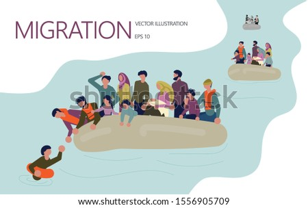 landing page template refugee