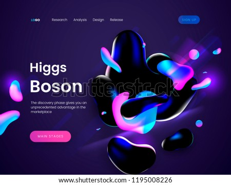 landing page template with a
