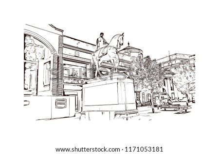 landmark with building view of