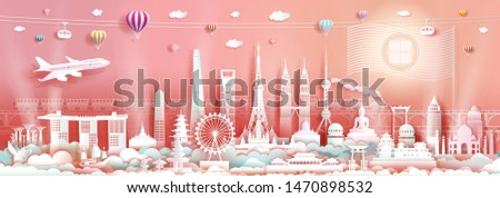 landmarks asia travel with