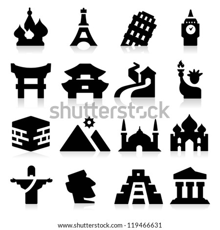 Landmarks Icons two