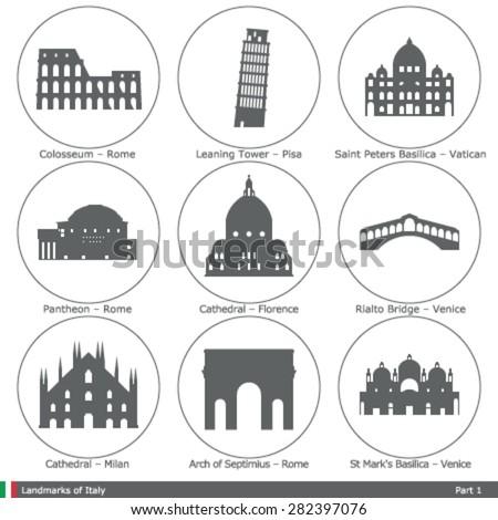 landmarks of italy  part 1