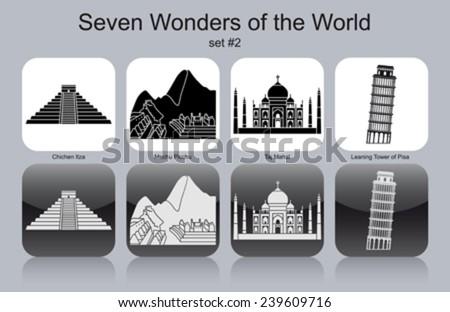 landmarks of seven wonders of