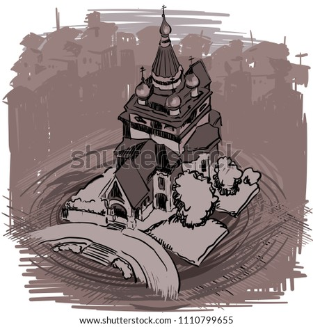 landmarks of sofia   russian