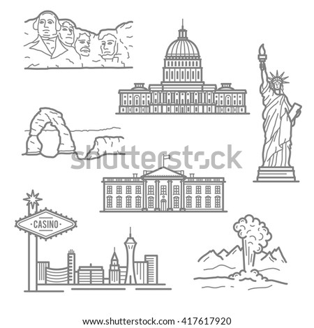 landmarks of usa for travel