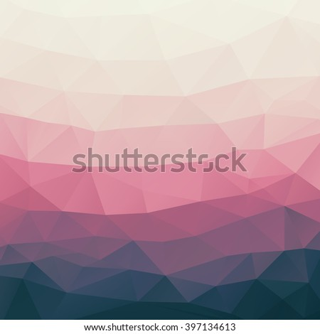 landscape abstract polygonal