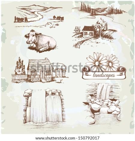 landscape  agriculture  farming ...