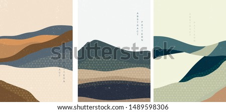 landscape background with