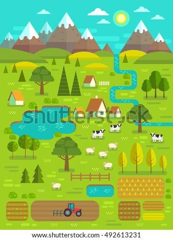 landscape creator vector