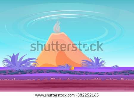 landscape fantasy island with
