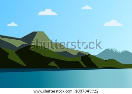 landscape  horizon  lake  beach