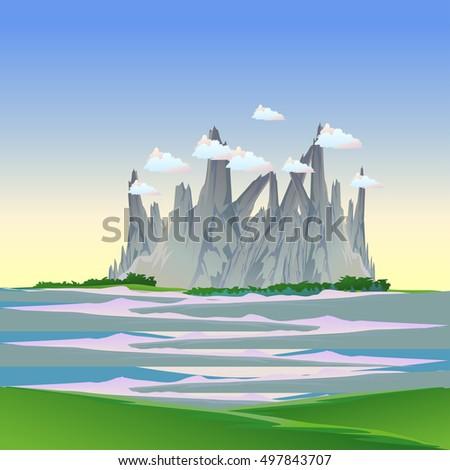 landscape landscape vector