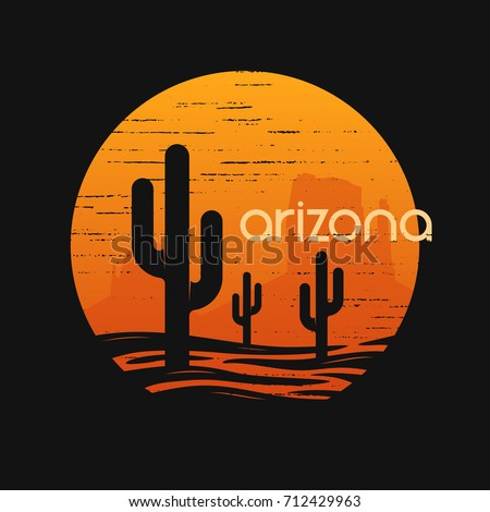 landscape of arizona state. t...