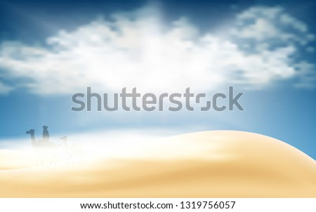landscape of the desert in the day time