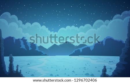 landscape of vast desertic