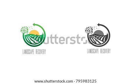 Landscape recovery logo