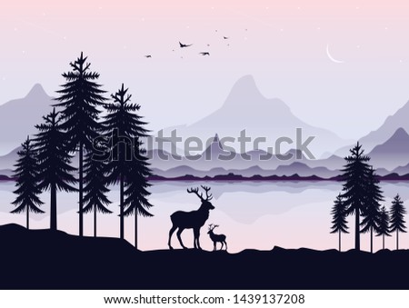 landscape scenery with