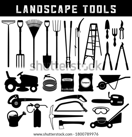 landscape tools  do it yourself
