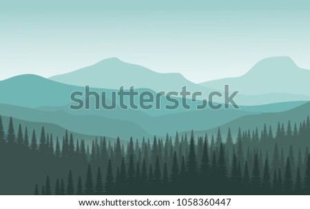 landscape view of mountain