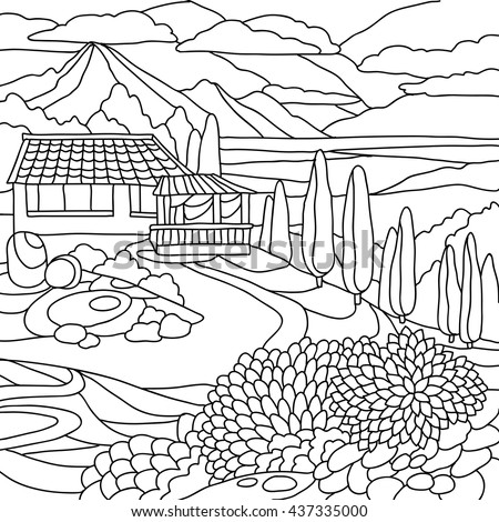 Advanced Coloring Pages Ocean Landscapes Coloring Pages