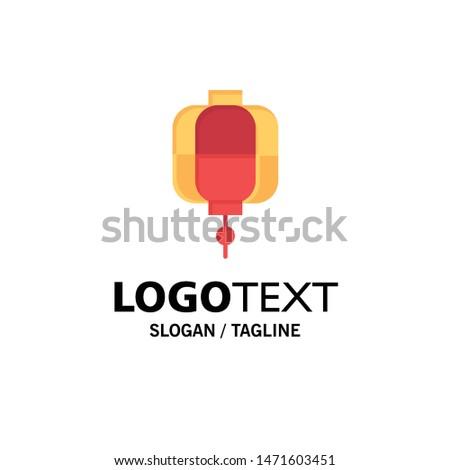 Lantern, China, Chinese, Decoration Business Logo Template. Flat Color