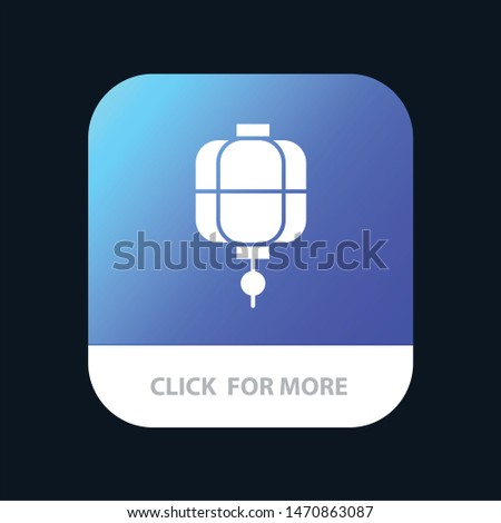 Lantern, China, Chinese, Decoration Mobile App Icon Design. Vector Icon Template background