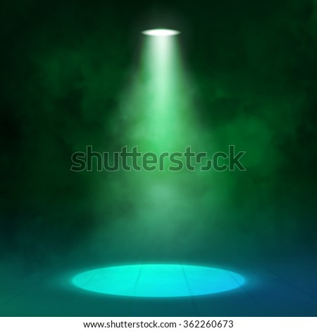 lantern spotlight illuminates