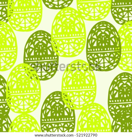 lanterns seamless pattern
