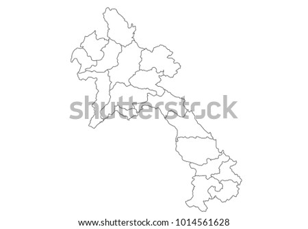 Free State Map Of Southeast Asia Download Free Vector Art Stock - Laos map vector