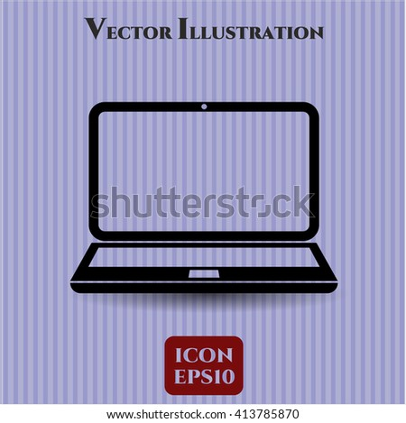 Laptop high quality icon