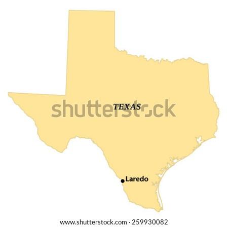 Laredo free vector 4vector for How far is waco texas from houston texas