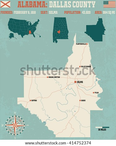 large and detailed map and