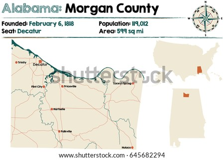 large and detailed map of
