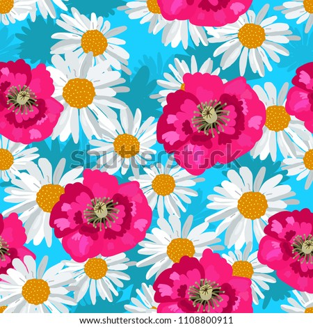 large beautiful daisies and