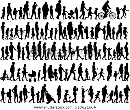 stock-vector-large-collection-of-silhouettes-concept