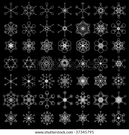 Simple Snowflake Patterns Browse Patterns