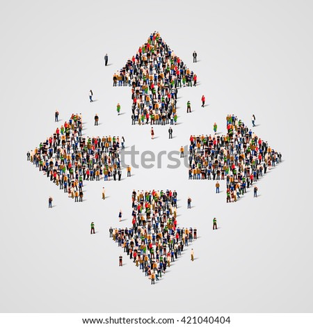 large group of people in the