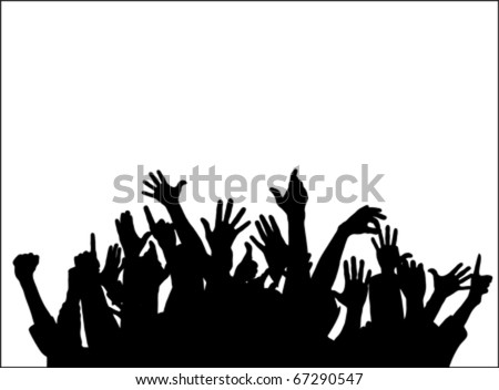 Large group of people raising hands isolated on white, vector raising hands raising hands raising hands raising hands raising hands raising hands raising hands raising hands raising hands raising hand