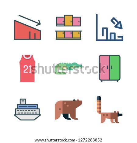 large icon set vector set