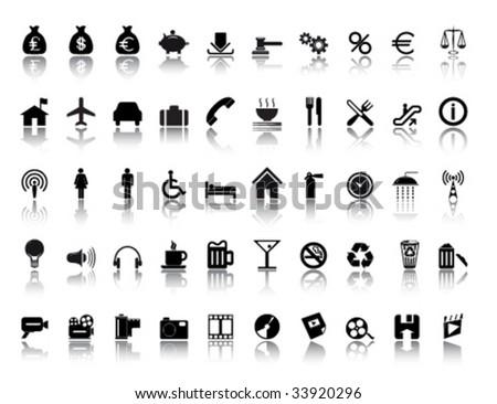 Large Icon Set Large Miscellaneous Icon Set