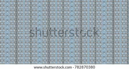Large seamless background of residential, commercial building
