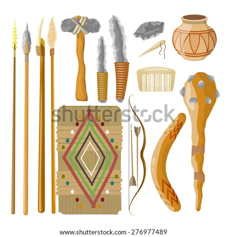 large set items ancient people