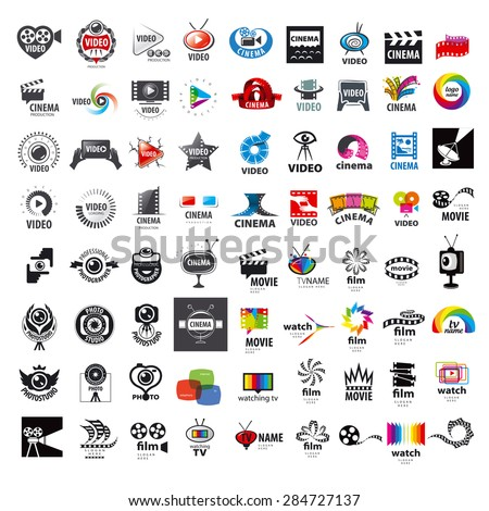 movie logos vector illustrator pack download free vector